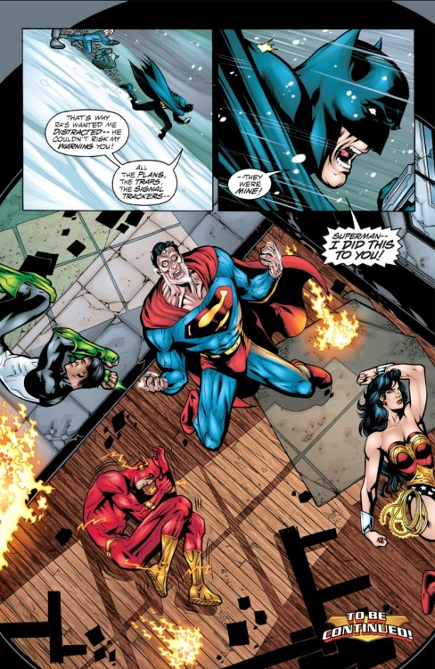 supermanblog:  rushka-rat:  JLA #44 - Tower of Babel Part 2  http://superman-blog.com/