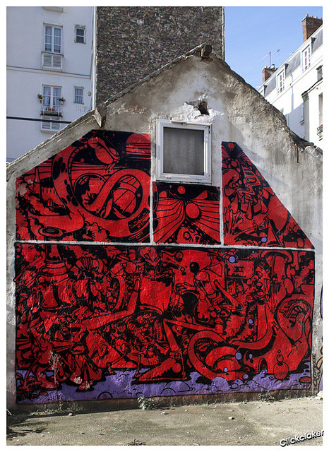 graffologist: Horphe #paris #graffiti #art