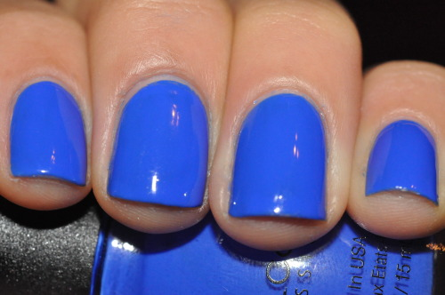 sandylovespolish:  Sinful Colors - Endless Blue