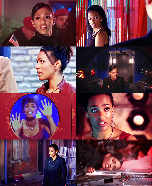 photoshopoff- Martha Jones in red