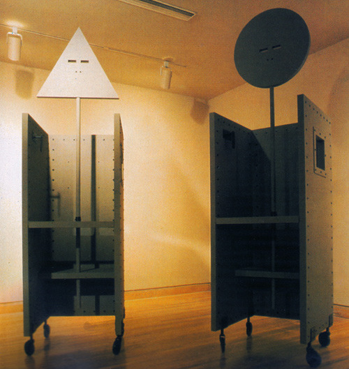 ellephanta:     John Hejduk and David-Shapiro, The Devil's Chairs, 1985