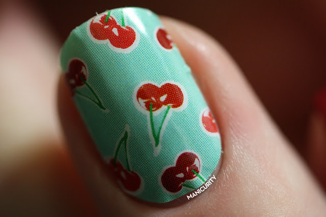 Jamberry Jamboree: Sour Cherry Pie | Click through for more info + photos - http://www.manicurity.com/2013/05/jamberry-jamboree-sour-cherry-pie.html