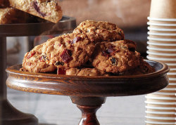 Bacon, Oatmeal, and Raisin Cookies Recipe - Featured on Food2Fork.com