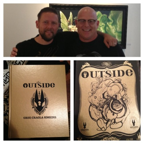 Thanks @craola !! #goldenbook #outside #stophauntingme#craola#gregcraolasimkins#craolasimkins #todiefor Thanks @todiefor !