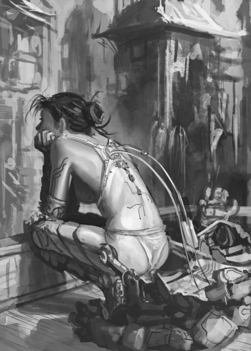 rude-mechanicals:  Recharge -Sketch by *GarretAJ
