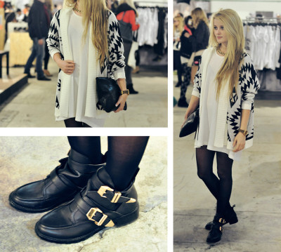 lookbookdotnu:  AZTEC PRINT CARDIGAN (by Patty R)