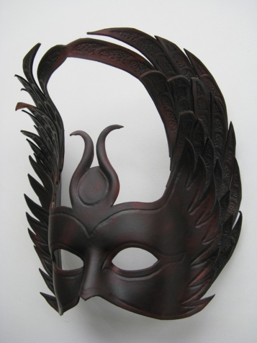 euclase:  Isis - Leather Mask. by ~xothique