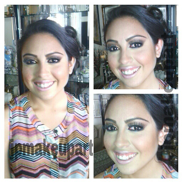 Another prom makeup and a happy client. I hope she has a beautiful night. #jpmakeupart #mua #beauty #prom #makeup #beat #beautiful #makeupartist