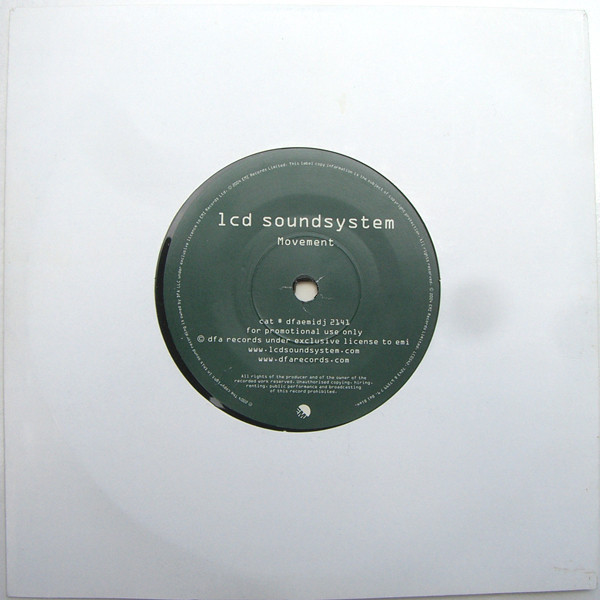 LCD Soundsystem - Movement 7""