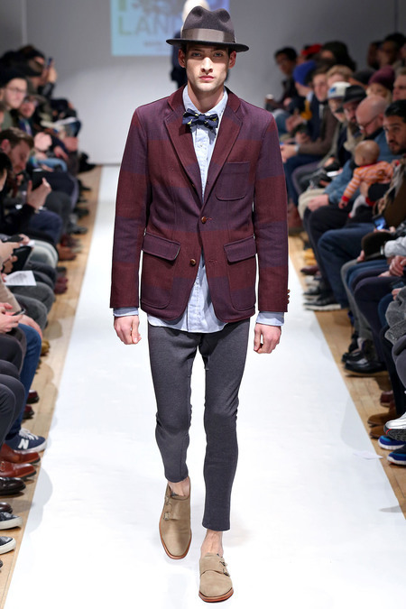 MARK MCNAIRY NEW AMSTERDAM. With NYFW coming to a close, menswear looked better than it ever has before. Mark Mcnairy presented a FW 2013 collection and for myself it was perfection. The way he pieces his outfits together and the overall focus on the casual blazer really stirred up some ideas for myself. Some very unexpected choices though, referring to the camo print suit made for a great collection. With Mark still getting his feet wet being his second season presenting his collections, he has proven that pushing the edge on menswear works in ways you would not believe. Very wearable but at the same time expect to stand out, specially in a blue tweed suit or even in his floral printed camo jacket (which I LOVE). Click here to see the full collection; Photos via Style.com