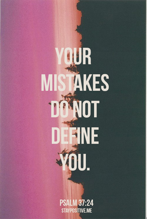 "spiritualinspiration:  So often, when people make mistakes, they get down on themselves and think, ""If only…"" ""I should have…"" ""What if…?"" It's easy to feel like you've missed the best plan for your life. That's when people get discouraged and stop pursuing their God-given dreams. But understand today, just because you've made a mistake or failed in some way, that doesn't cancel God's plan. God never disqualifies you. He never says, ""Go sit on the sidelines. You've blown it too many times. You've got too many weaknesses."" No, God always gives you another chance! Some of the great people in the Bible made very poor choices. The apostle Paul started off as a murderer, yet his destiny was bigger than his mistakes. He ended up becoming a great leader and writing over half of the New Testament. What am I saying? Our mistakes, our failures, our poor choices don't have to keep us from our God-given destiny. With God, it's not about the way you start in life, it's about the way you finish. Receive His grace today and embrace the bright future He has in store for you!"