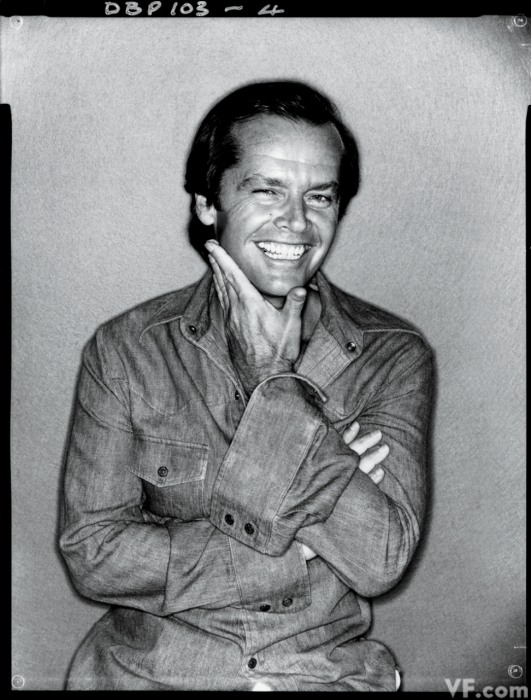 bohemea:  Jack Nicholson by David Bailey, 1978
