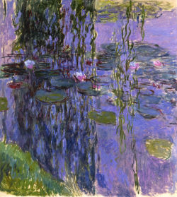 Water lilies, Claude Monet, 1916-1919