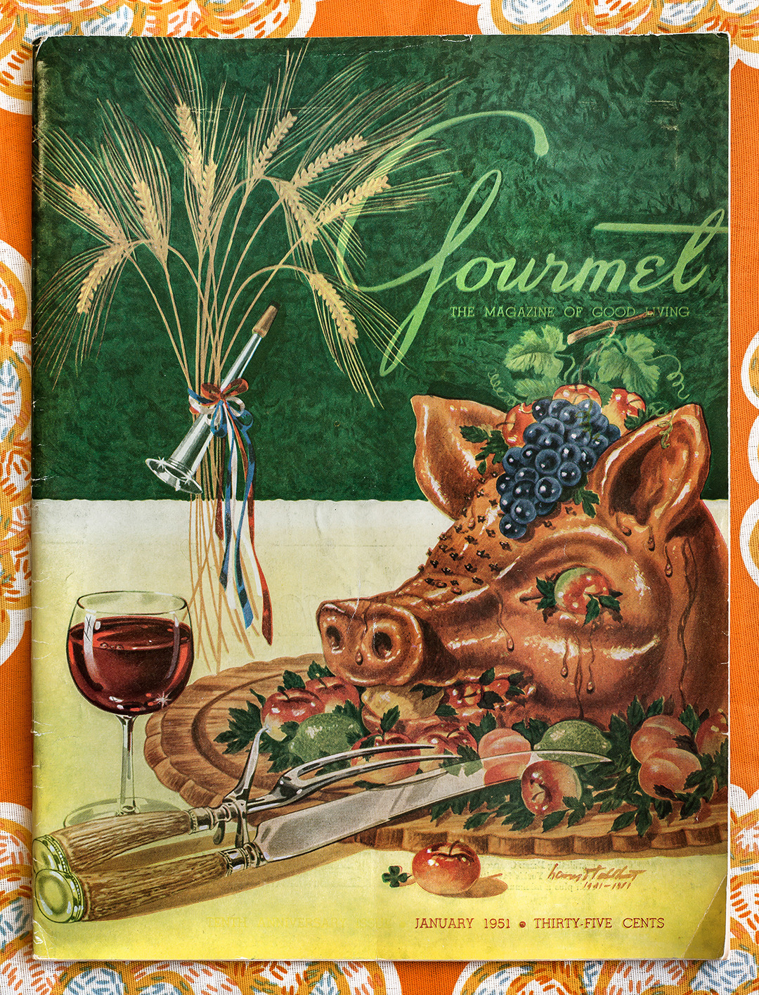 Gourmet: January 1951