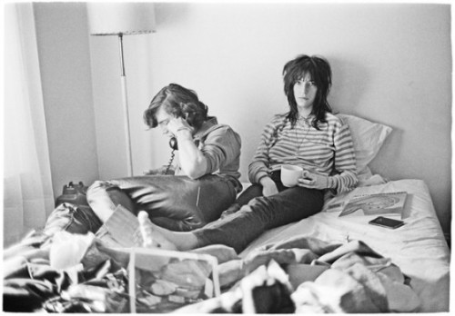 INFLUENCE. PATTI SMITH & ROBERT MAPPLETHORPE Welcoming the Lazy Sunday… Photograph by Judy Linn