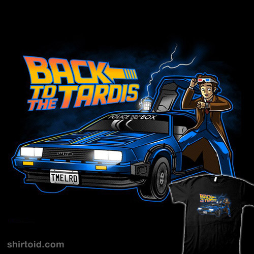 shirtoid:  Back to the TARDIS by Bamboota is available at Redbubble
