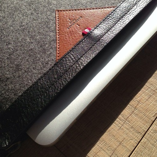 #macbook pro retina zip sleeve #hardgraft #holdontothegood