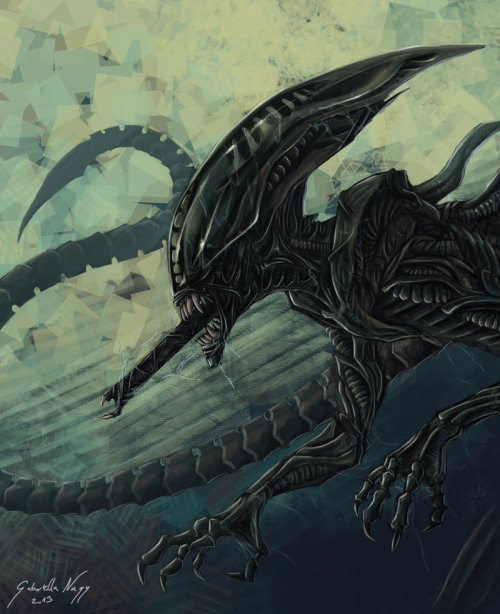Deacon-style xenomorph by Surk3 on deviantART
