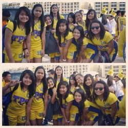 Kulang Pa ehh :))) late upload :) as always =)) #volleyball #Fisaa #picstitch