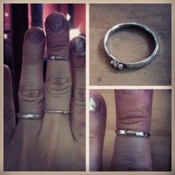 Another stack ring  sterling
