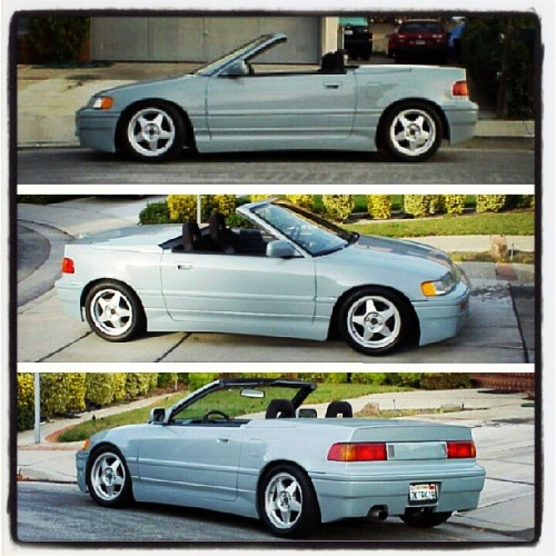 This #convertible #crx looks surprisingly awesome #ef #ef8 #honda #ecefc #eastcoastefcivics