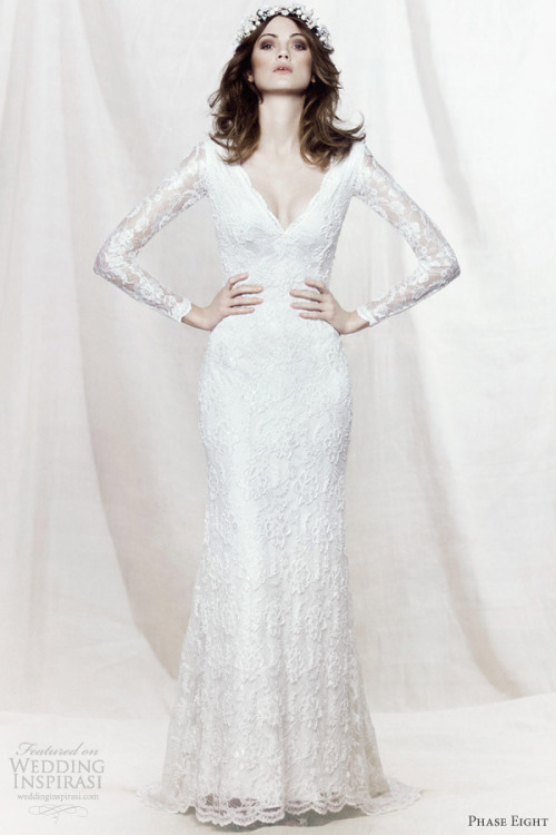 helloweddingdiary:  Phase Eight 2013 bridal collection.