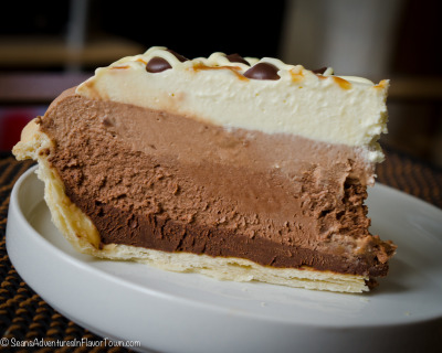 gastronomyfiles:  Chocolate Heaven Pie (by YVRBCbro)