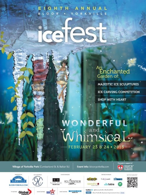 We can't wait for this year's Wonderful & Whimsical IceFest in Bloor-Yorkville!