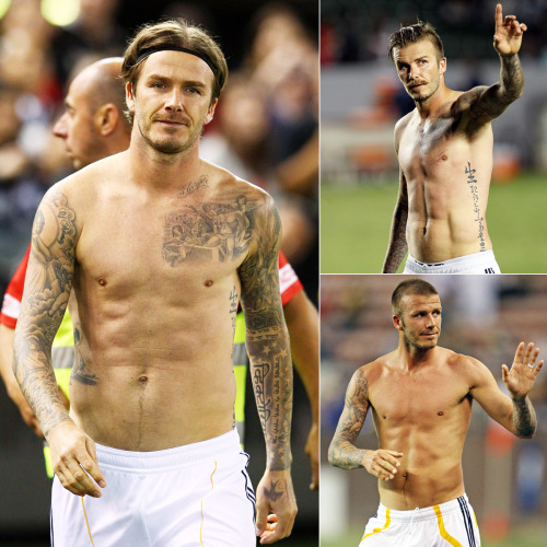 Happy 38th birthday, David Beckham! (We ❤ you shirtless at any age.)