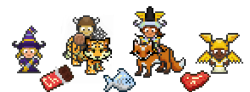 habitrpg:  While Tyler and the mobile team have been toiling endlessly on the app, we pixel artists have been working hard, too! Here's a sneak peak at some of the awesome things we've got in store for you guys ;)
