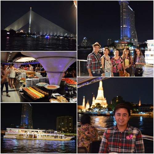 Last night's dinner on a cruise. :) (at River City (ริเวอร์ซิตี้))