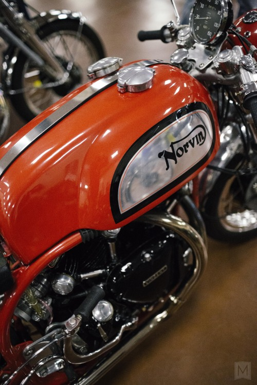 Norvin. Seen at the Clubman's All-British Motorcycle Weekend. San Jose, CA.
