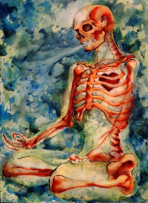 not-all-that-uncommon:  Zen Skeleton by *Quilsnap