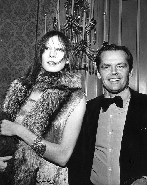 superseventies:  Anjelica Huston and Jack Nicholson