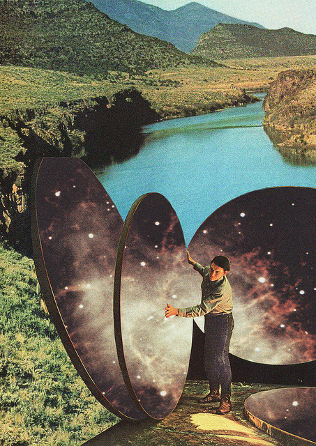 sirenspassby:  feru-leru:  El Artista de los Cielos by Collage al Infinito by Trasvorder on Flickr.  +