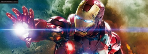 The Avengers Iron Man Facebook Cover