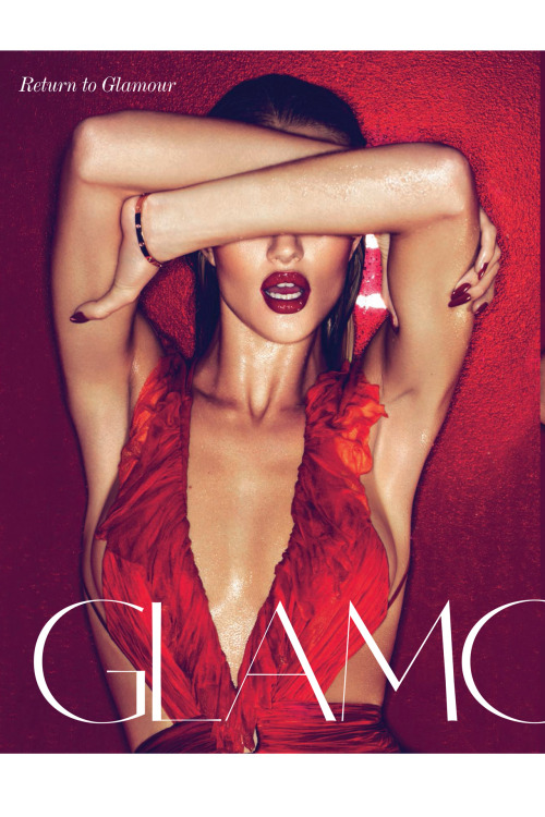 Rosie Huntington-Whiteley shot by Mert Alas & Marcus Piggott for the March 2011 issue.