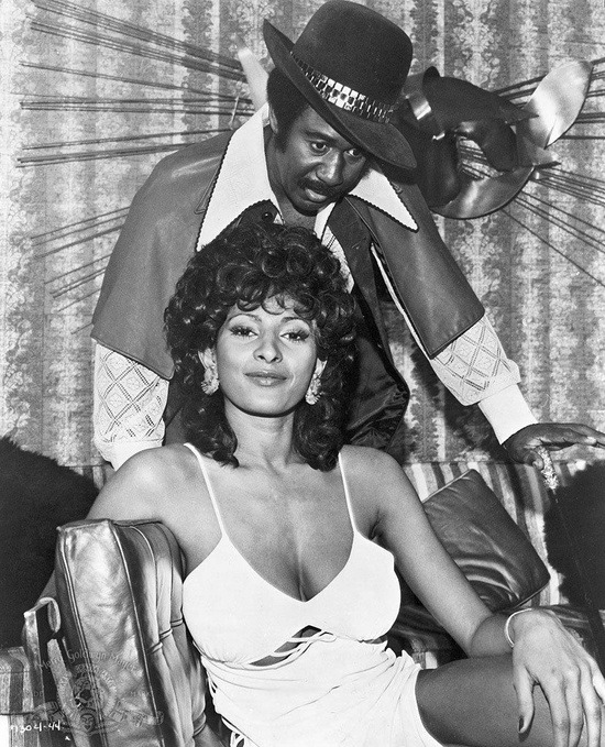 superseventies:  Pam Grier and Robert DoQui in 'Coffy', 1973.