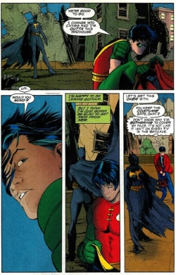 - No Man's Land/Robin 73 This is cute. Tim is shy. But then, he is a teenage boy in the proximity of a girl… :)