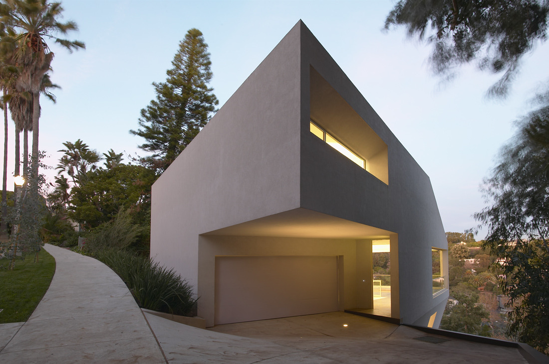 koperkoorts:  Hill House / Johnston Marklee & Associates Pacific Palisades, California, USA 2004 Photography: Eric Staudenmaier