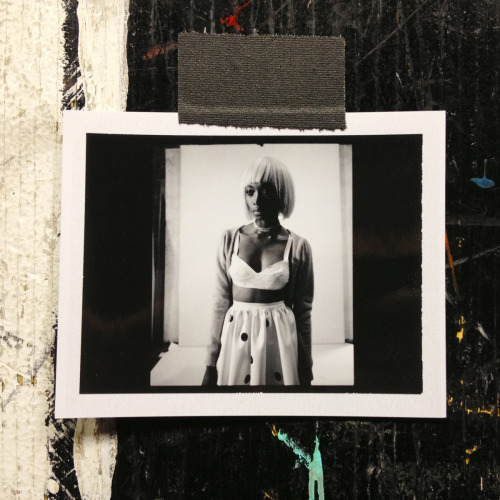 jasonerichardwick:  POLAROID | GEORGIE BADIEL The very pleasant Georgie Badiel joins us in the studio…   Polaroid.