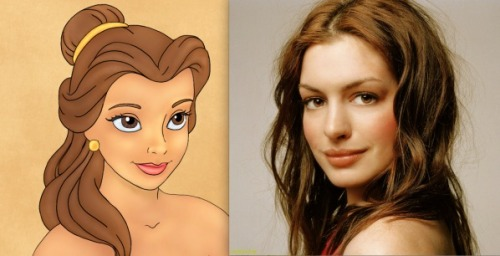 Is Disney thinking of bringing these Disney Princesses to life? Checkout who would play who! #5 is so perfect: