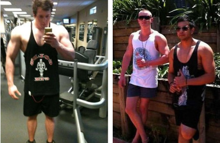 People Who Skipped Leg Day [Click for full gallery] They're overrated and undersized.