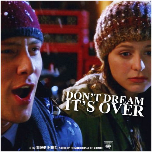 4x09 Swan Song | Don't Dream It's Over Alternative Cover