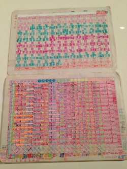 wgsn:  Remember gel pens? We love these colourful artist's notebooks by Shingo Ikeda. The SouZou: Outsider Art from Japan exhibition at London's Wellcome Collection opens tomorrow.