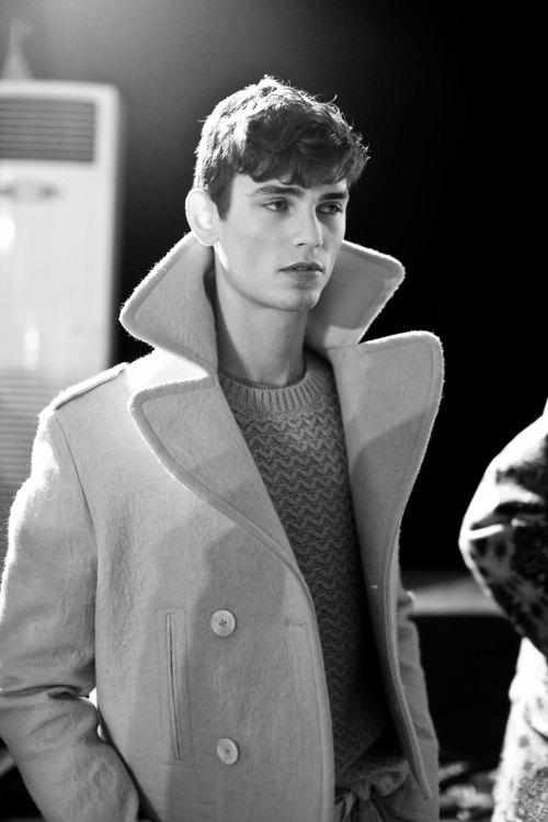 Arthur Gosse by Thomas Betts - Backstage at Topman Design F/W13