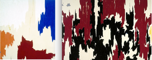 articure:  Bobby's Clyfford Still nails.