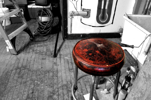 RevivingTribulation: Red Stool by Retrospect