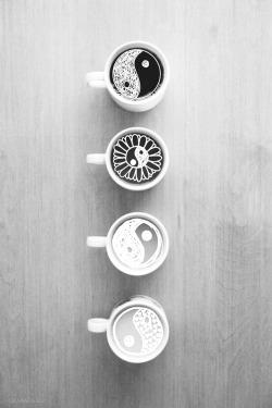 love LOL photography art animals Black and White happy hipster queue indie coffee black green flower hip peace nice mug yin yang drawings yin yang cups Spiritual vertical coffe ying-yang Yin & Yang yionyang