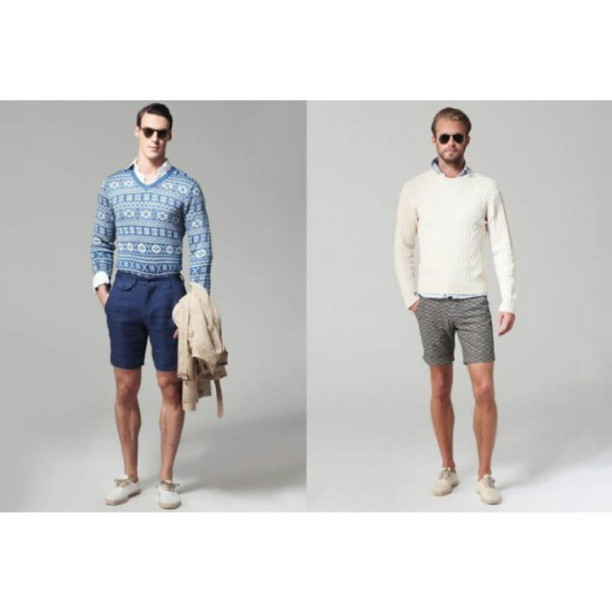 affinity4boldness:  Ovadia & Sons Spring/Summer 2013 Men's #Lookbook #mensfashion #fashionblogger  Spring is nearly here. Ovadia & Sons's style is going to be the most out-standing one. Colorful jerseys, that's going to be the trend.